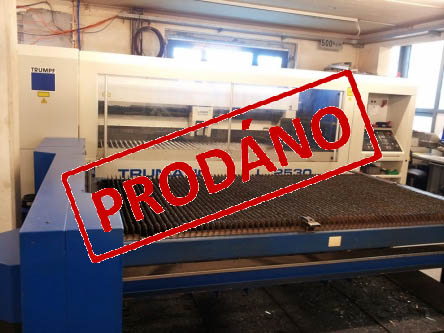 TRUMPF Trumatic L 2530-3,2kW (Demonstrační foto)